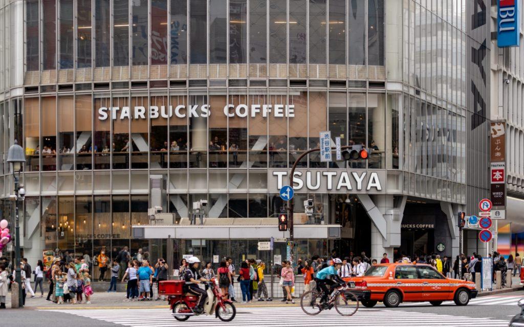 Top 5 Starbucks in Tokyo with a View 2019 Starbucks Shibuya Scramble Tsutaya