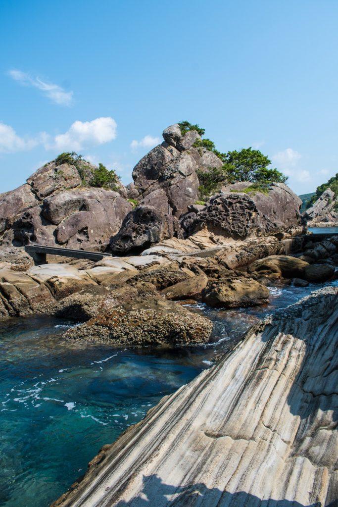The beautiful view of Tatsukushi from afar.