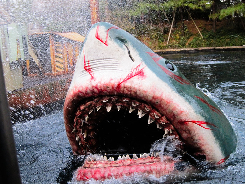 Universal Studios in Osaka Jaws Attraction
