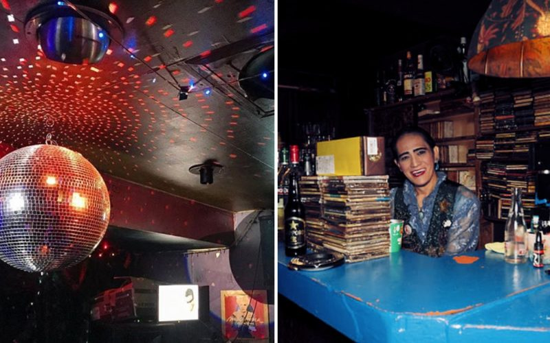 New Sazae Disco Bar in Shinjuku Ni-chome