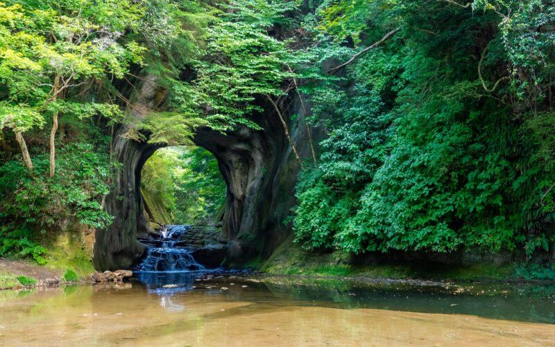 Noumizo Waterfall Chiba Kameiwa Cave 3