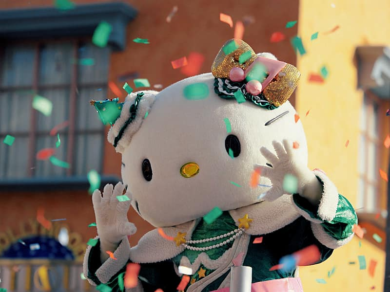 Helly Kitty Christmas as Universal Studios Japan in Osaka