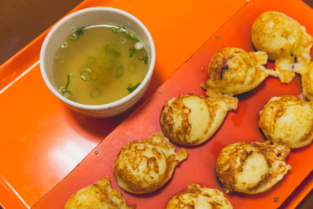 Akashiyaki from Kobe