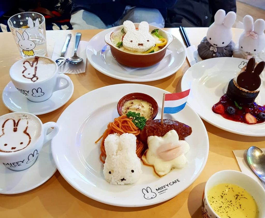 Kamaishi Miffy Cafe in Iwate Prefecture