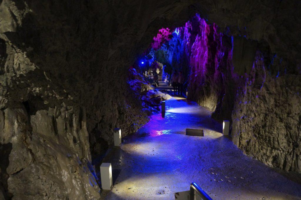 Ryusendo Cave in Iwate Prefecture