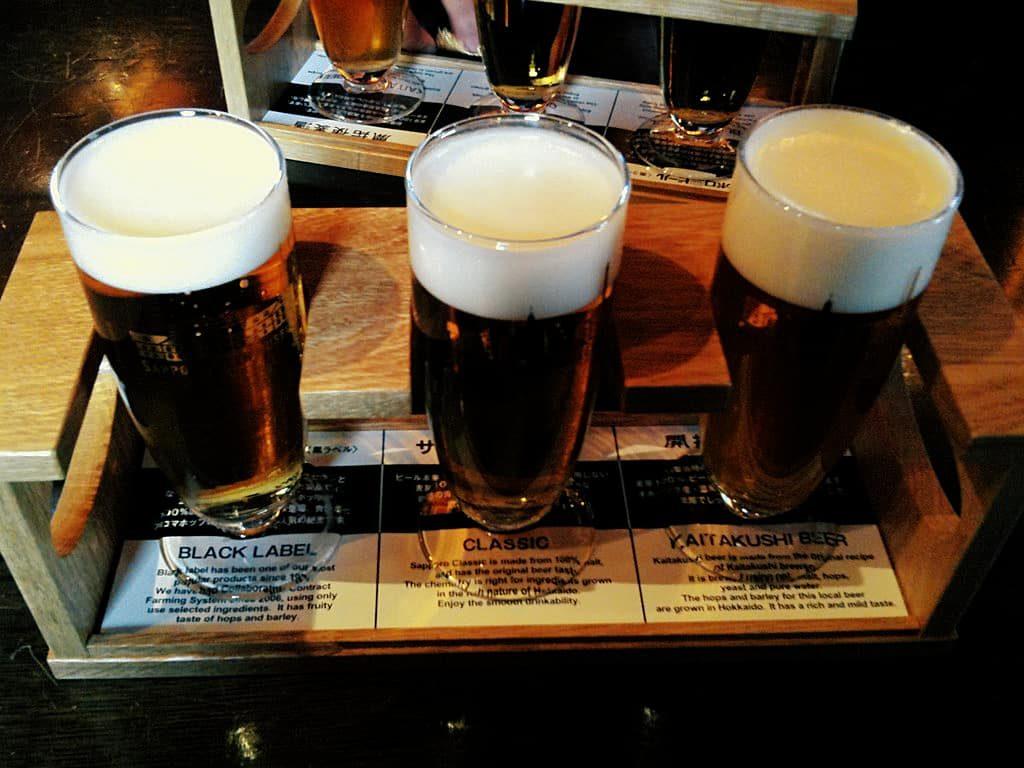 Sapporo Beer Garden in Hokkaido, Japan