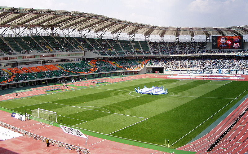 Ecopa Stadium in Fukuroi Shizuoka Prefecture will host the 2019 Rugby World Cup