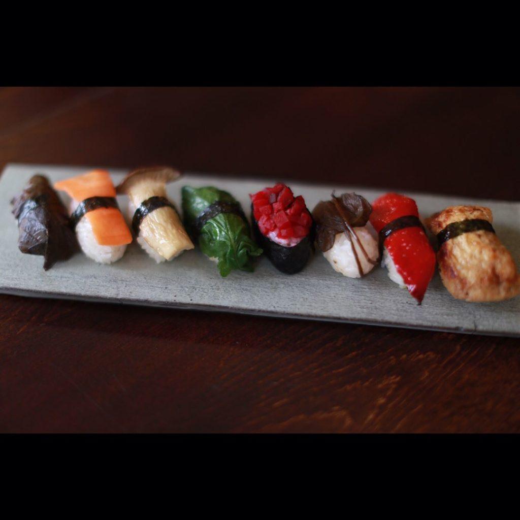 Itadakizen Sapporo Vegan sushi