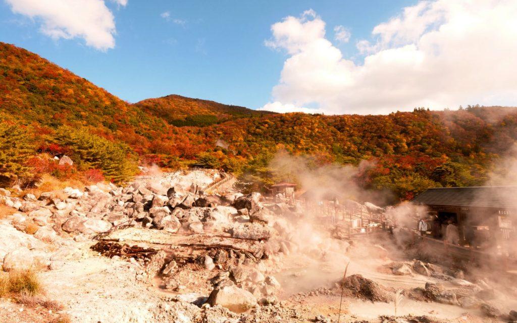 Best spots to see autumn leaves in Kyushu Unzen Onsen