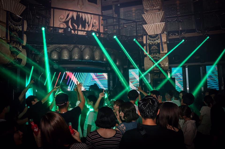 King XMHU Nightclub in Sapporo