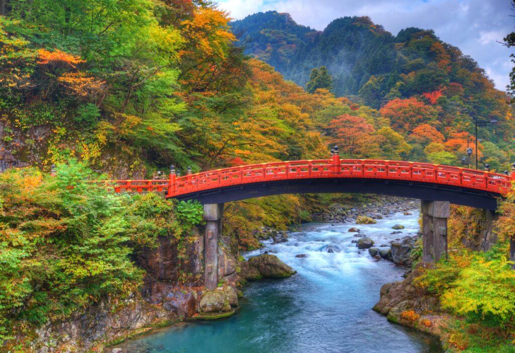 Shinkyo Bridge at Futarasan Shrine Nikko Tochigi 2