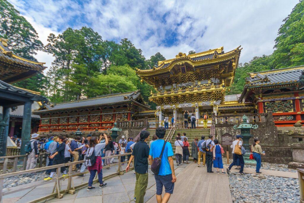 Yomeimon Gate Toshogu shrine tochigi nikko