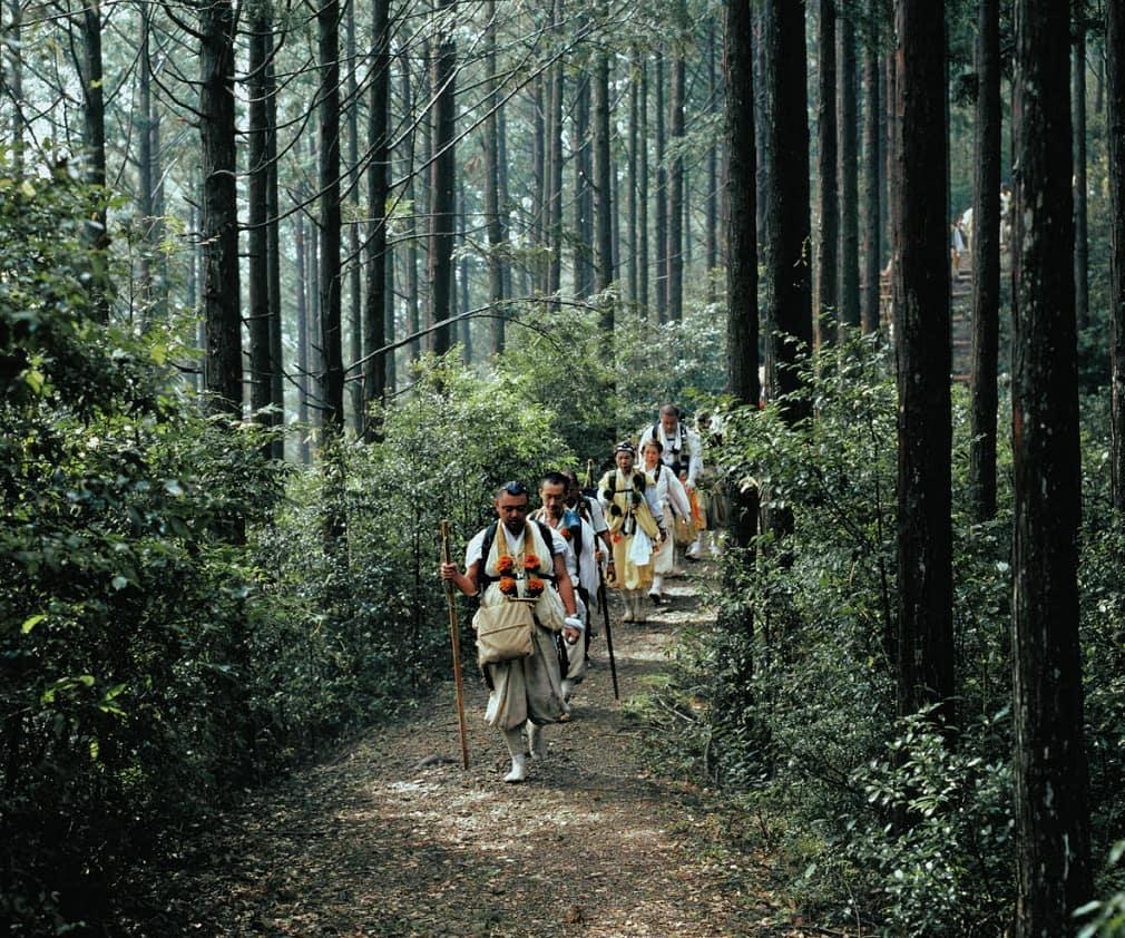 Kumano Kodo pilgrims