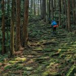 Kumano Kodo pilgrimage hiking trail in Japan