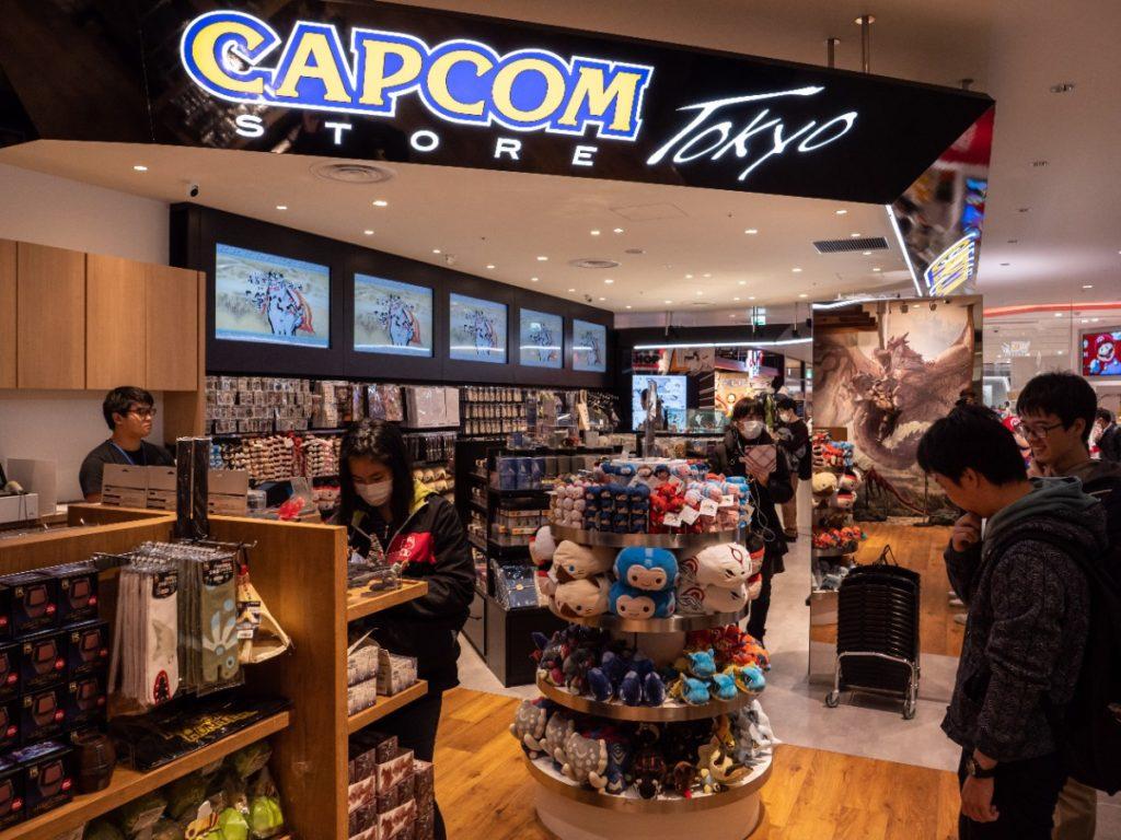 Capcom Store Shibuya Parco in Tokyo Japan