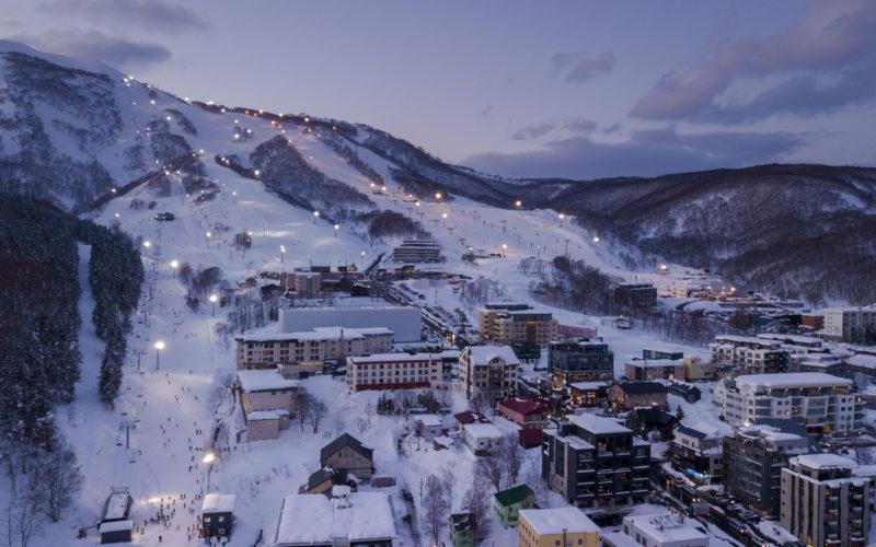 Niseko Ski Village in Hokkaido Japan