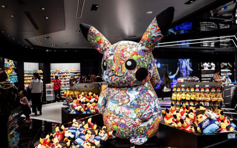 Pokemon Center Shibuya Parco in Tokyo Japan.