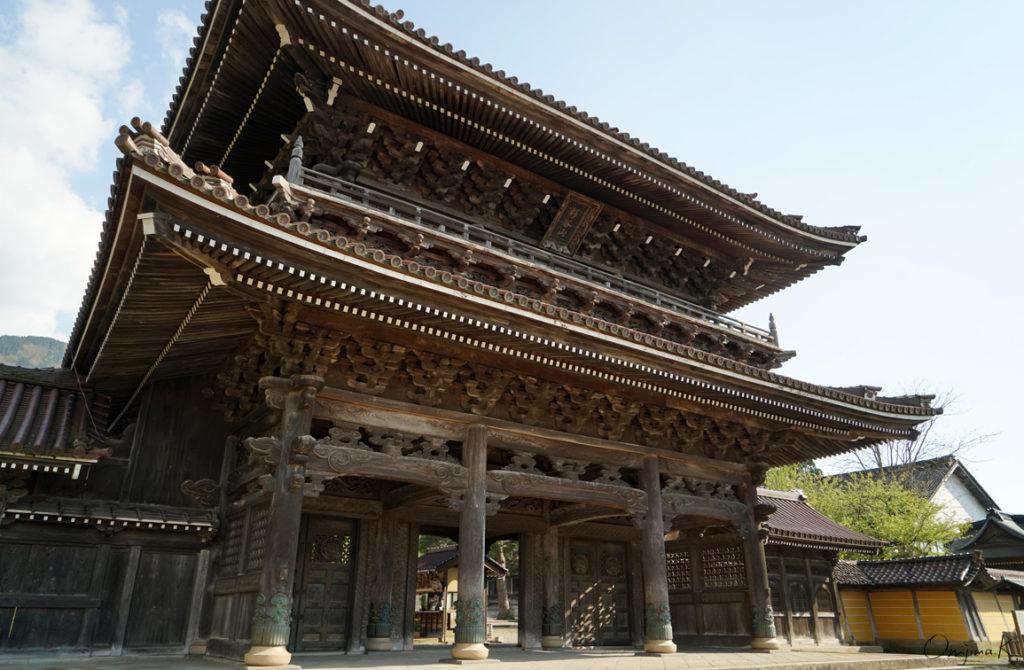 Inami Bestuin Zuisen-ji Temple in Inami, Toyama.