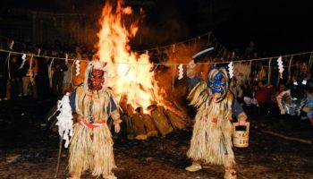 Namahage Festival in Akita, Japan.