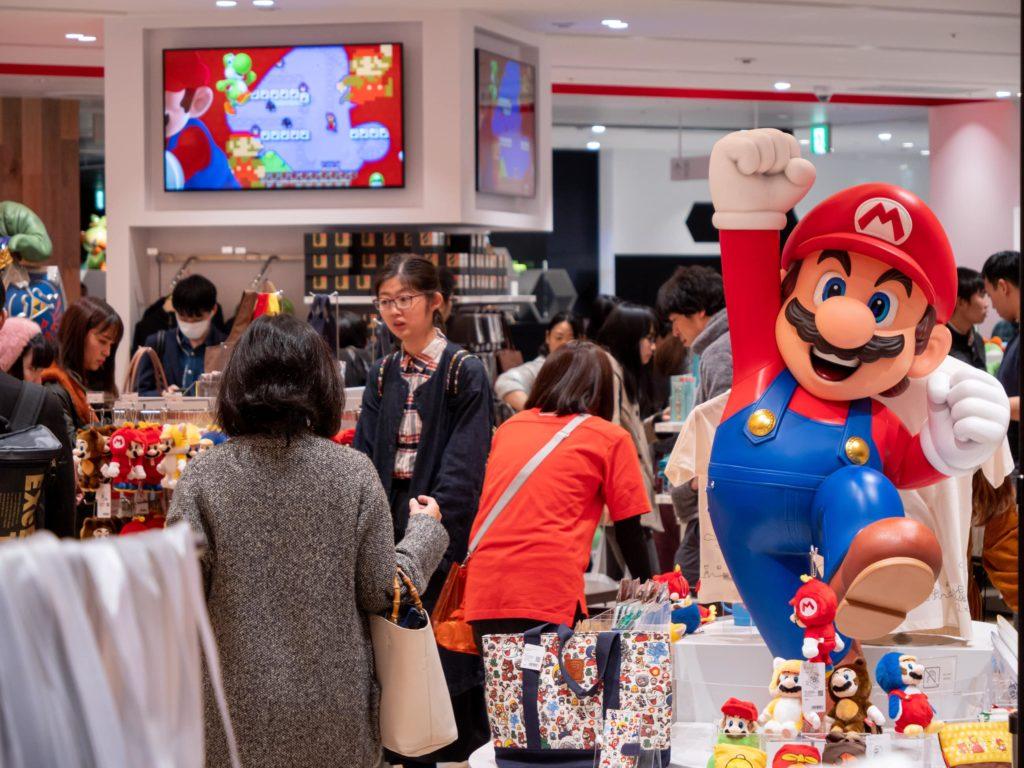 Nintendo Store in Shibuya Tokyo Japan