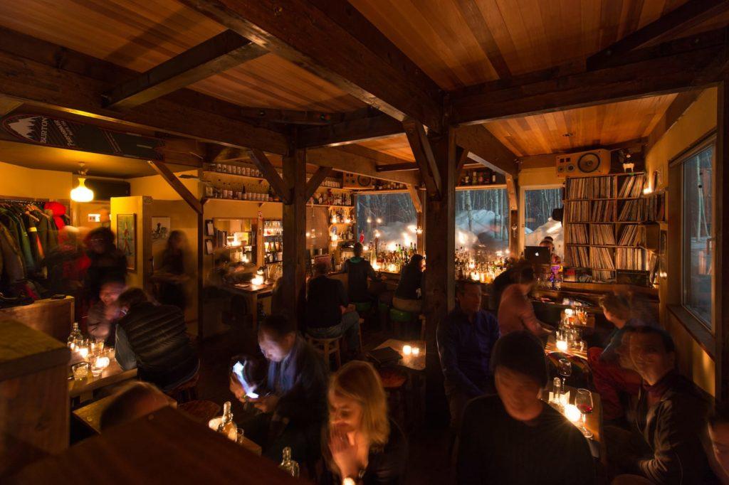Bar Gyu in Hokkaido, Japan.