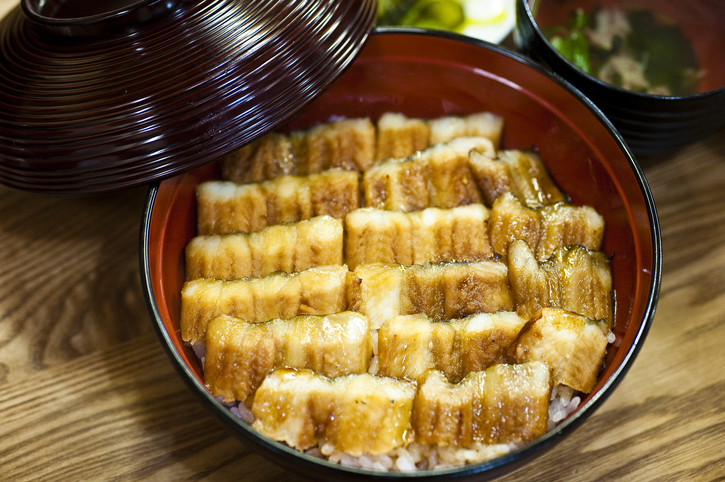 Anago is a regional dish in Hiroshima Japan