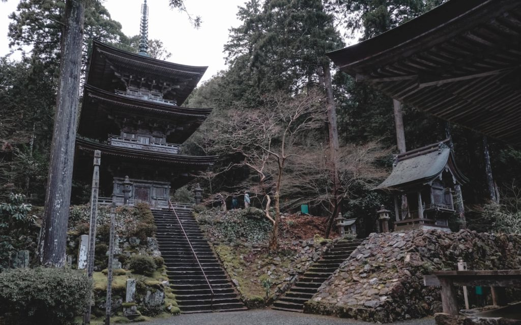 Myotsu-ji Temple in Obama, Fukui.