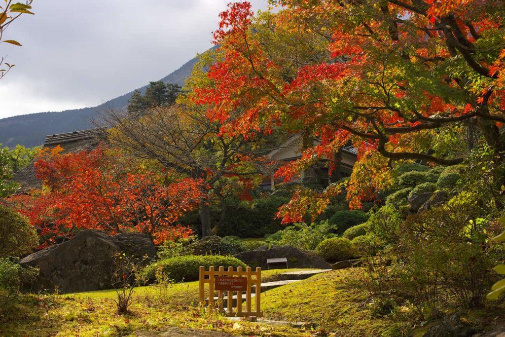 Hakone Museum of Art in Hakone, Japan.