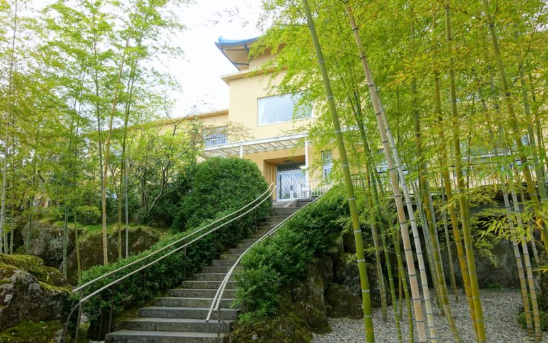Hakone Museum of Art in Hakone, Japan.
