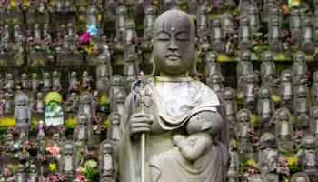 Saishoji Temple in Niigata, Japan.