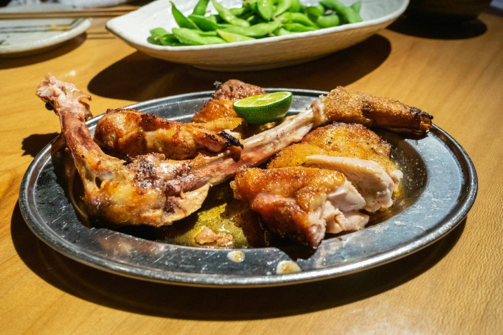 Awa Odori Chicken in Tokushima