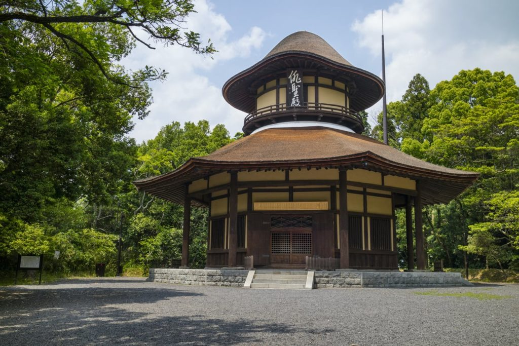Haiseiden Hall in Mie, Japan.