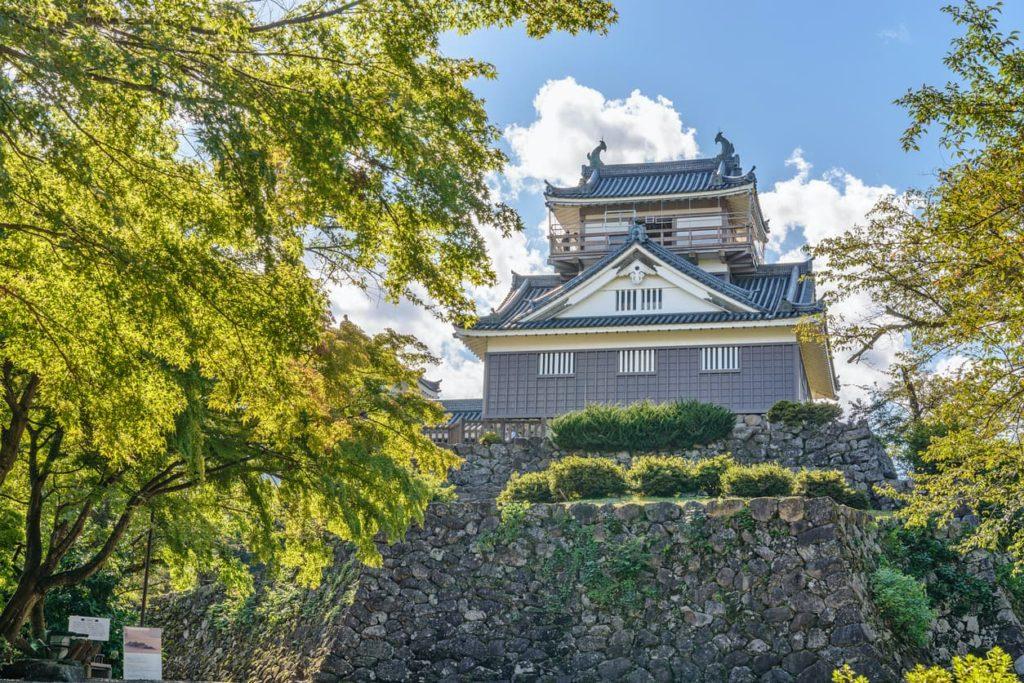 Ono Castle in Fukui, Japan.
