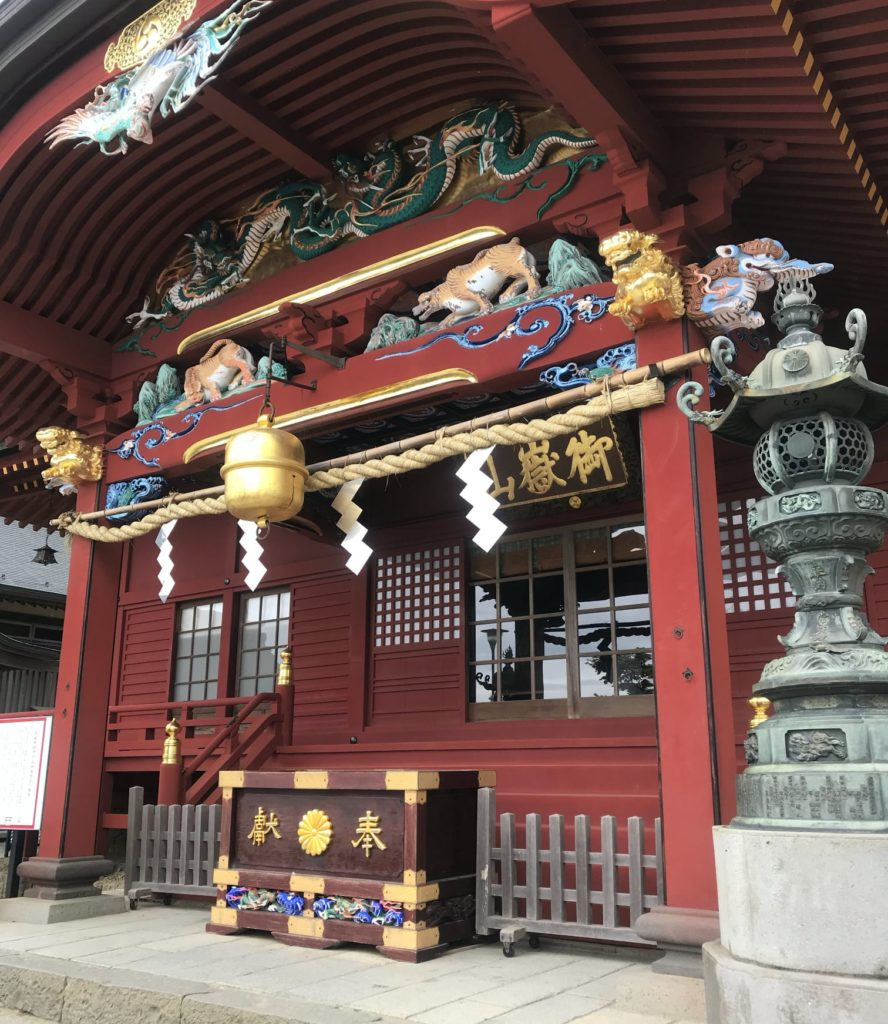 Musashi Mitake Shrine on Mount Mitake