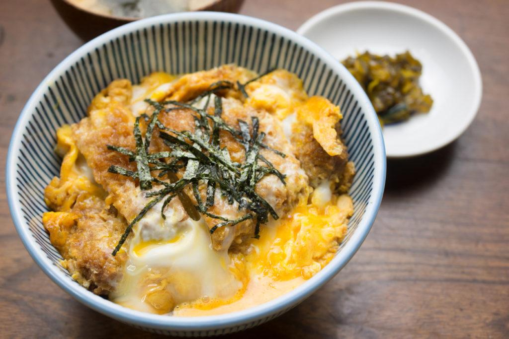 Japanese Cuisine Katsudon (カツ丼)