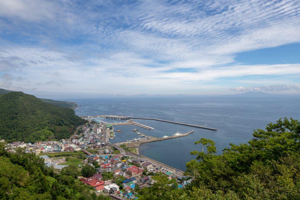 At Rausu Shiretoko Hokkaido Japan