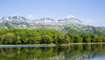 Shiretoko National Park Mountain Hokkaido