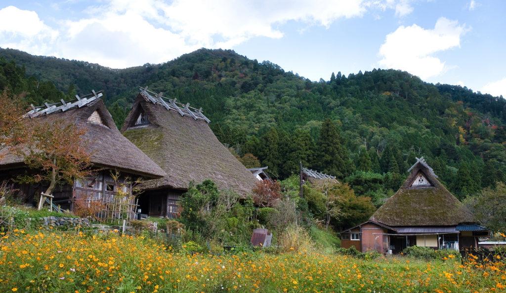 Kayabuki no Sato Village in Kyoto