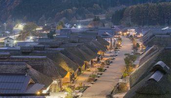 Ouchijuku village Fukushima