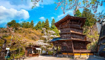 Aizu Sazaedo Temple's