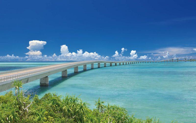 Miyakojima Okinawa Irabu Bridge