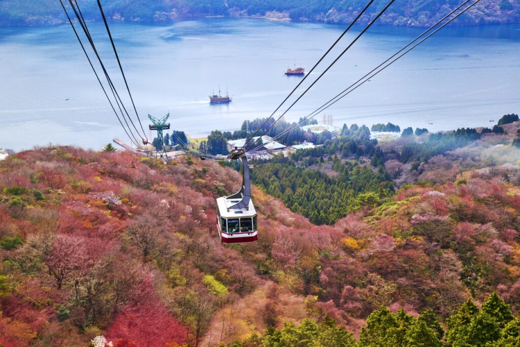 Hakone Kanagawa Mt. Komagatake Ropeway