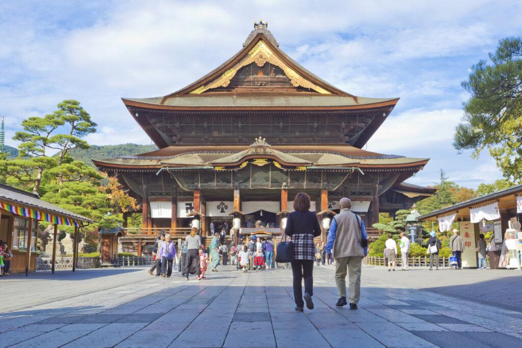 Zenkoji Temple in Nagano city