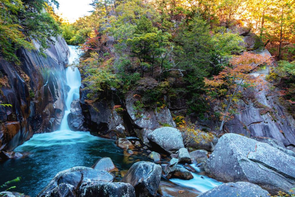 Shosenkyo Gorge, Yamanashi